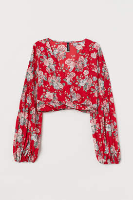 H&M Short Blouse - Red