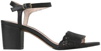 Basque Romy Black Sandal