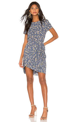 1 STATE Heritage Bouquet Tie Front Dress