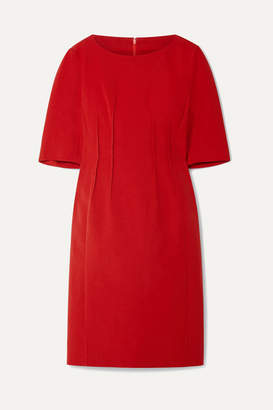 Akris Pintucked Stretch Cotton-blend Dress