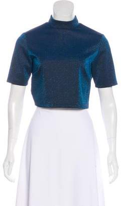 Nomia Mettalic Cropped Top
