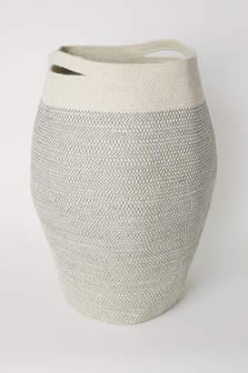 H&M Jute Laundry Basket - White