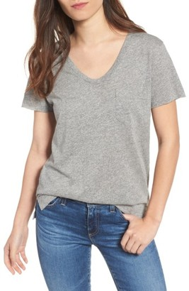 Women's Ag Emerson Pocket Tee $78 thestylecure.com