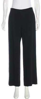 Calvin Klein Collection High-Rise Wide-Leg Pants