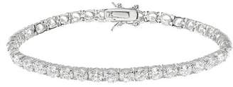 Kenneth Jay Lane CZ By Round CZ Tennis Bracelet