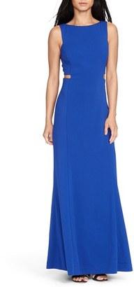 Lauren Ralph Lauren Cutout Crepe Gown $194 thestylecure.com