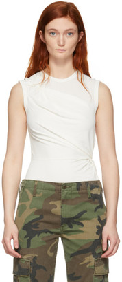 Alexander Wang Off-White Twisted Top