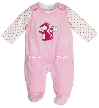 Salt&Pepper Salt and Pepper Baby Girls' NB Playsuit Happy Nicki Footies