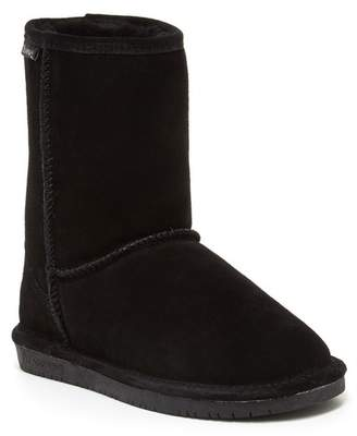 BearPaw Emma Genuine Sheepskin Lined Short Suede Boot
