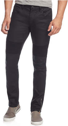 INC International Concepts I.n.c. Men's Skinny-Fit Moto Jeans, Created for Macy's