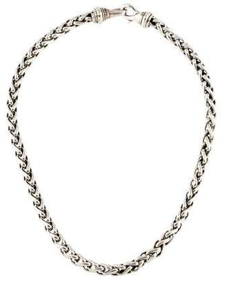 David Yurman Two-Tone Wheat Chain Necklace