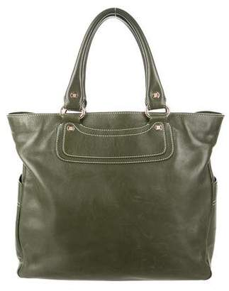 Celine Leather Boogie Tote