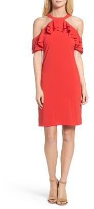 Women's Julia Jordan Ruffle Halter Dress $128 thestylecure.com