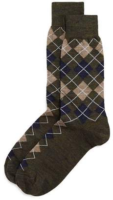 Bloomingdale's The Men's Store at Wool Mini Argyle Socks - 100% Exclusive
