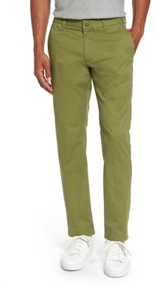 Men's Bonobos Tailored Fit Washed Stretch Cotton Chinos $98 thestylecure.com