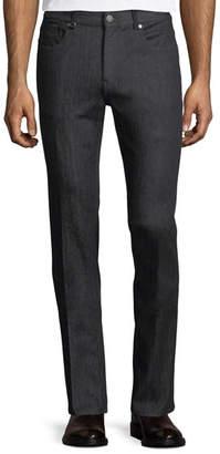 Z Zegna Slim-Leg Stretch-Denim Jeans