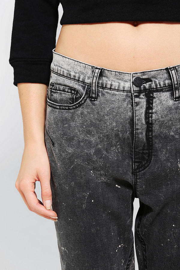 BDG Low-Slung Zip-Back Skinny Jean