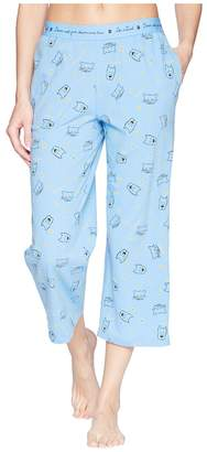 Life is Good Cropped Sleep Pants Women's Pajama
