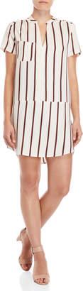 Lush Striped Shift Dress