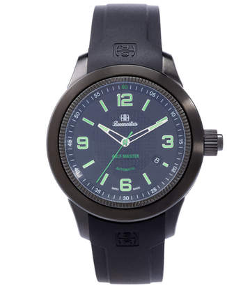 Brooks Brothers Reconvilier Hercules Golf Master with Black Dial and Green Numerals