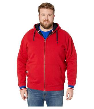 Polo Ralph Lauren Big & Tall Big Tall Classic Athletic Sherpa Lined Fleece Full Zip