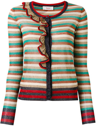 Jucca striped cardigan $178.11 thestylecure.com