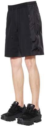Juun.J Nylon Shorts W/ Zips