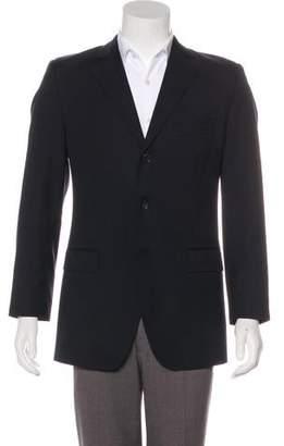 Dolce & Gabbana Virgin Wool Pinstripe Blazer
