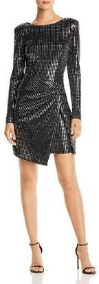 Aqua Sequined Hologram Dress - 100% Exclusive