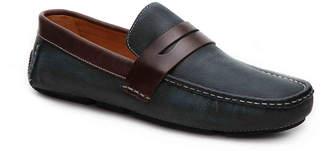 Mercanti Fiorentini Leather Penny Loafer - Men's