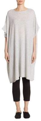The Row Cashmere Short Sleeve Tunic