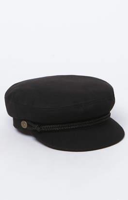 Brixton Black Fiddler Fisherman Hat