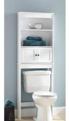 Chapter Bathroom Space Saver, White