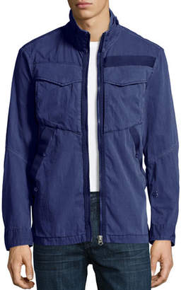 G Star G-Star Deline Twill Military Overshirt, Blue