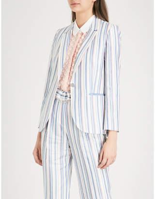 Claudie Pierlot Oxford-woven jacket