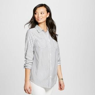 Merona Women's Favorite Tunic Sour Cream Stripe - Merona $24.99 thestylecure.com