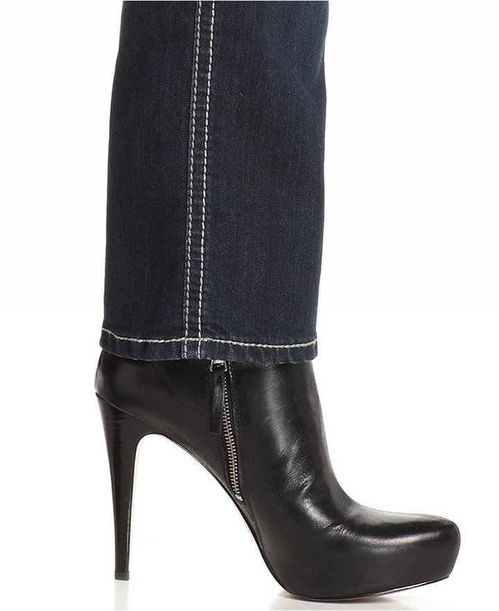 Hydraulic Plus Size Bailey Straight-Leg Jeans, Blue Wash
