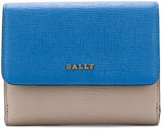 Bally colour block mini wallet