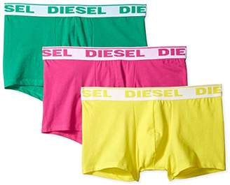Diesel Men's 3-Pack Shawn Stretch Boxer Trunk