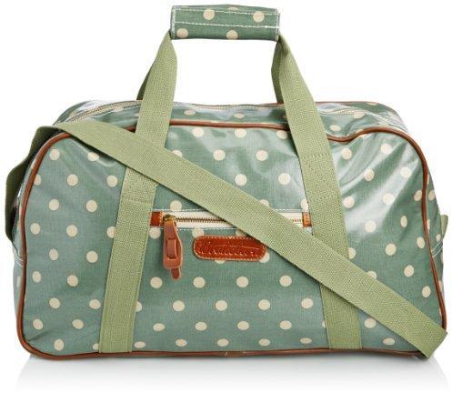 Brakeburn Womens Polka Overnight Top-Handle Bag