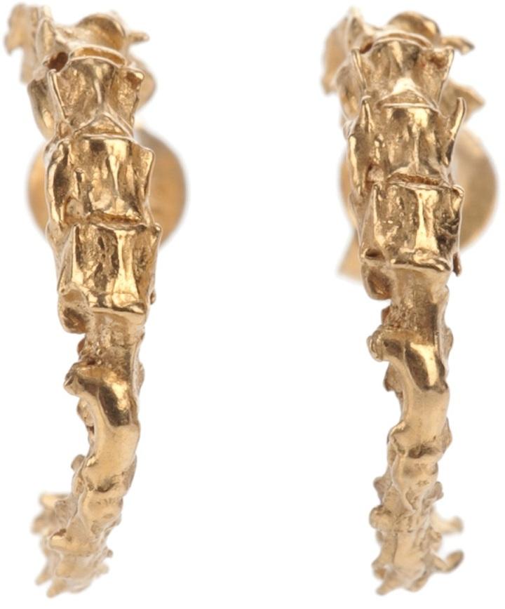 Noemi Klein 'Spine Hoops' earrings