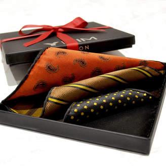 YHIM London Luxury Versatile Silk Men's Pocket Square