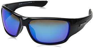 Pepper's Mens Overturn LP5701-12 Polarized Wrap Sunglasses