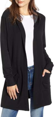 Stateside Fleece Hooded Cardigan