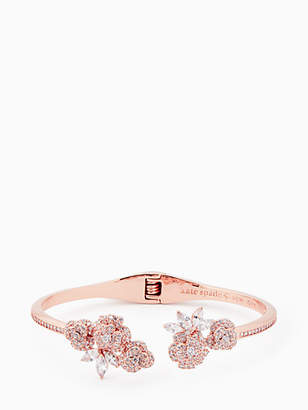 Kate Spade That special sparkle open hinge cuff