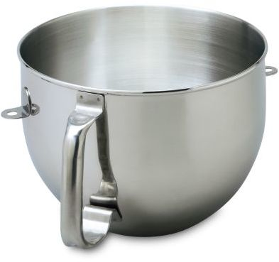 KitchenAid Stainless Steel Bowl for 6-qt Stand Mixers