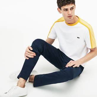 Lacoste (ラコステ) - 『MADE IN FRANCE』 カラーブロック クルーネックTシャツ (半袖)