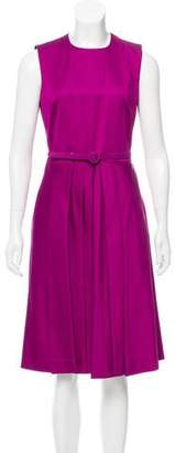 Ralph Lauren Belted Midi Dress