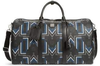 MCM Gunta Visetos Duffel Bag