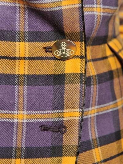 Vivienne Westwood Tartan Wool Mini Jacket
